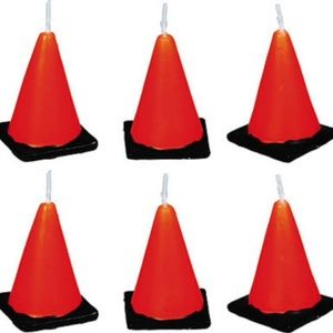 Other - Construction Cone Birthday Candles
